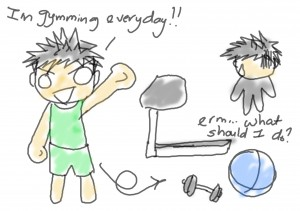 mistakes of gym